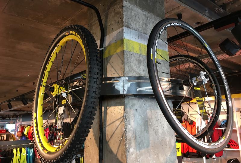 Jorma Bike soporte llantas